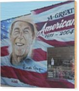 Ronald Reagan 1 Wood Print
