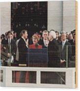 Ronald Reagan Inauguration - 1981 Wood Print