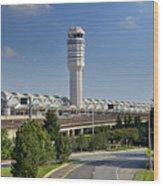 Ronald Reagan National Airport Wood Print by Brendan Reals