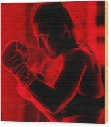 Ronda Jean Rousey Mma Wood Print