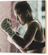 Ronda Rousey Mma Wood Print