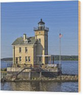 Rondout Light Wood Print