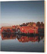 Ronnskar Sweden Wood Print