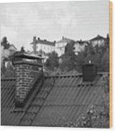 Roof Wood Print