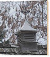 Roof Topper Wood Print
