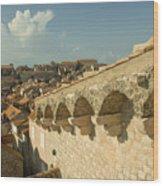 Rooftops Of Dubrovnik  Wood Print