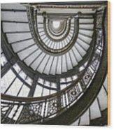 Rookery Stairway Wood Print
