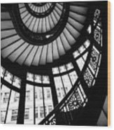 Rookery Stairwell Wood Print