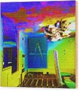 Room 02 Wood Print