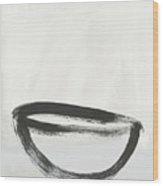 Room To Receive 1- Zen Abstract Art By Linda Woods Wood Print