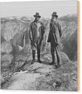 Roosevelt & Muir Wood Print