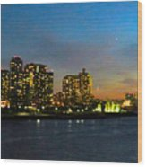 Roosevelt Island 1 New York Wood Print