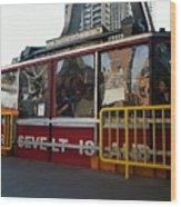 Roosevelt Island Tram Wood Print