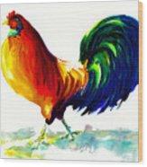 Rooster - Big Napoleon Wood Print