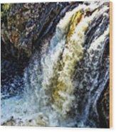 Rootbeer Falls Wood Print