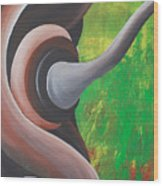 Rooted Energy Collection Wood Print