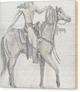 Roper Ballet Wood Print