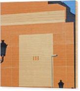 Roquettas 75 Wood Print