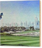 Rory At Ddc Emirates Gc Dubai 8th 2014  Wood Print