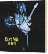 Rory Kent Blues Wood Print