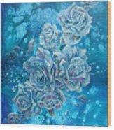 Rosa Stellarum Wood Print