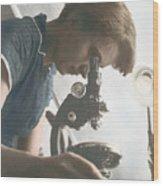 Rosalind Franklin, Crystallographer Wood Print