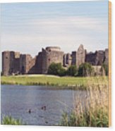 Roscommon Castle Ireland Wood Print