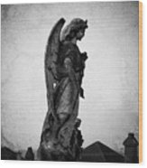 Roscommonn Angel No 4 Wood Print