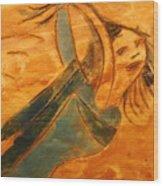 Rose - Tile Wood Print