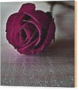 Rose #003 Wood Print