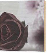 Rose #005 Wood Print