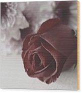 Rose #006 Wood Print