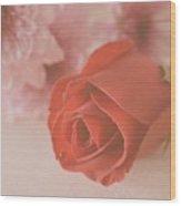 Rose #007 Wood Print