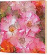 Rose 140 Wood Print