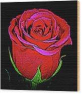 Rose 18-9 Wood Print