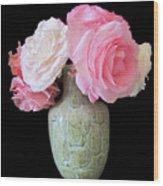 Rose Bouquet Stilllife Wood Print