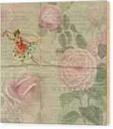 Rose Dancer Wood Print