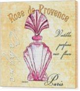 Rose De Provence Wood Print
