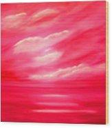 Rose Heaven Wood Print