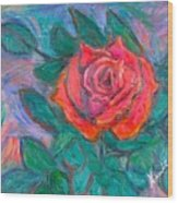 Rose Hope Wood Print