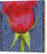 Rose - Id 16236-104956-0793 Wood Print
