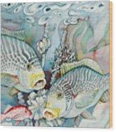 Rose Island IIi Wood Print
