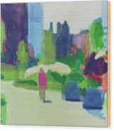 Rose Kennedy Greenway, Boston Wood Print