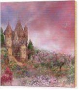 Rose Manor Wood Print