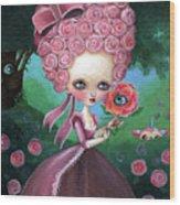Rose Marie Antoinette Wood Print