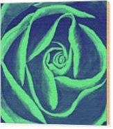 Rose Mint Wood Print