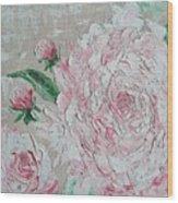Rose Of Love Wood Print