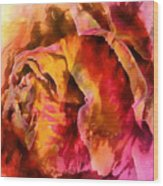 Rose Of Passion Wood Print