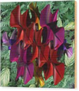 Rose Orchid Wood Print