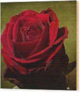 Rose Tapestry Wood Print